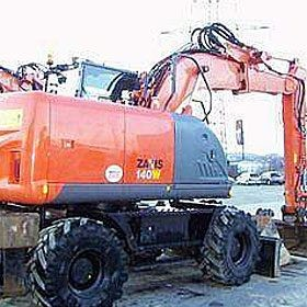 Ключи от Hitachi ZX 140W-3 вручили компании Demaecker & Van Haecke